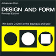 Design and Form: The Basic Course at the Bauhaus cover
